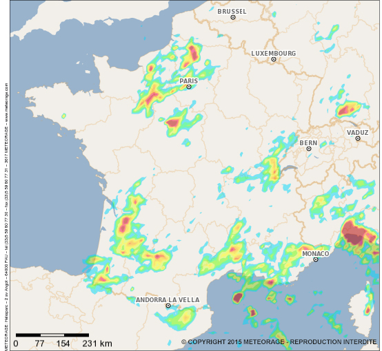orages violents 2014