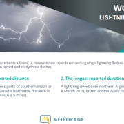 Lightning records 2020 - WMO