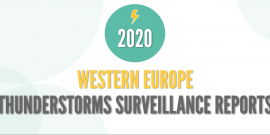 Western Europe Thunderstorms Reports - 2020